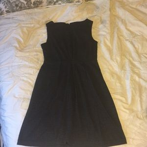 Size M merona black and grey cotton dress